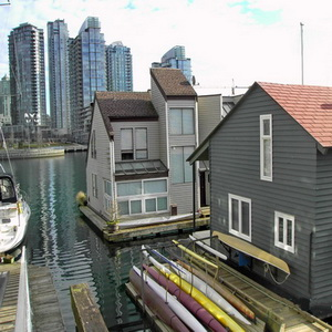 Hausboote in Vancouver
